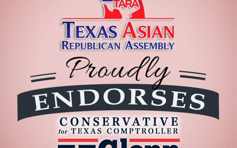 TARA Endorses Hegar for Texas Comptroller